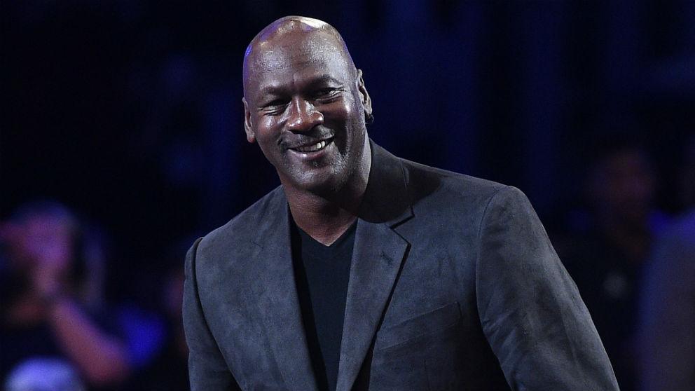 Michael Jordan, en un evento reciente. (AFP)
