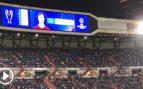 Manolas recibió una gran ovación del Santiago Bernabéu