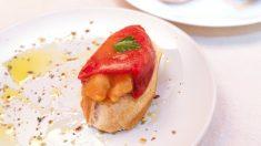 Receta de Pimientos del piquillo rellenos de salmón típicos de Navarra