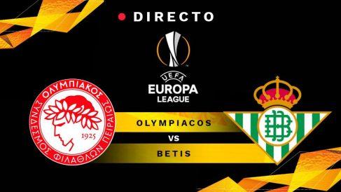 Europa League 2018-2019: Olympiacos – Betis | Partido de fútbol hoy, en directo.