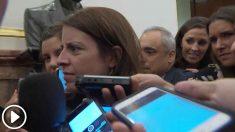 ºAdriana Lastra, portavoz del PSOE en el Congreso.