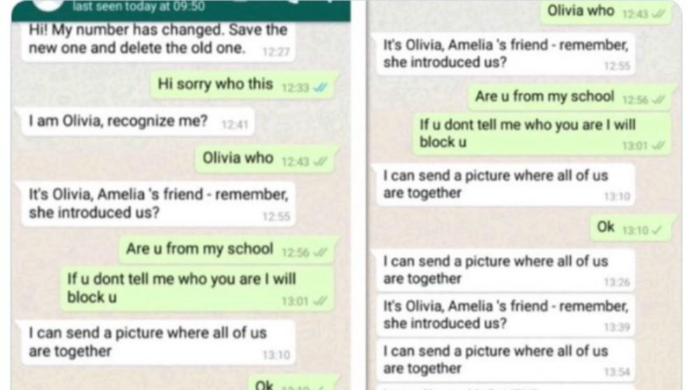 viral de WhatsApp