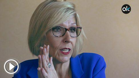Beatriz Becerra, vicepresidenta de la subcomisión de DDHH del Parlamento Europeo. (Vídeo: Juanma Yela)