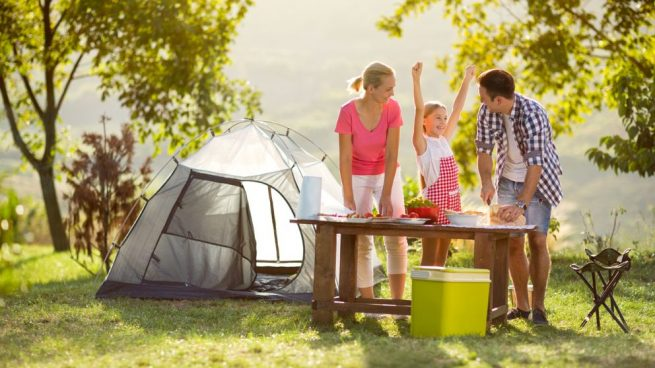 preparar una acampada