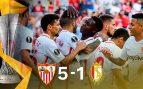 Sevilla – Standard de Lieja: Resultado, resumen y goles (5-1)