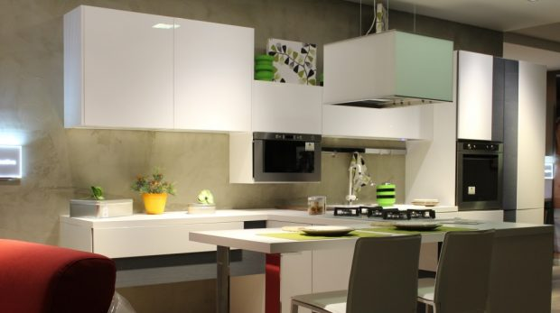 Cómo decorar una cocina con barra americana