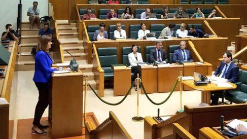 Idoia Mendia, líder del PSE en el Parlamento Vasco. (EP)
