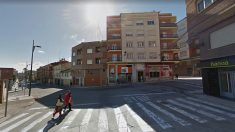 Confluencia de la calle Eduardo González Gallarza y avenida San Marcia, en Lardero (La Rioja), donde se produjo el suceso.