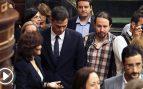 """Iglesias ve """"bastante cutre"""" el plagio en el libro que firman Sánchez y el 'negro' Ocaña"""
