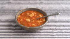 Receta de Sopa de almejas y verduras fácil de preparar