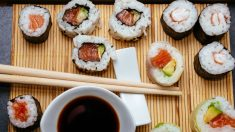 Receta de sushi-Zu o aderezo de arroz para sushi