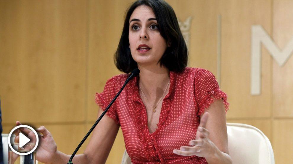 Rita Maestre, la portavoz del Ayuntamiento de Madrid