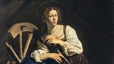 'Santa Catalina de Alejandría', de Caravaggio.