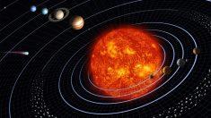 Descubre el tamaño de los planetas del sistema solar.