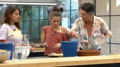 Verdeliss y Ángel discuten por la comida en la cocina de 'GH VIP 2018'