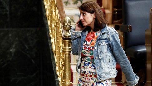 Adriana Lastra, portavoz del Grupo Socialista en el Congreso de los Diputados. (Foto: EFE)