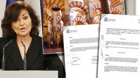 Calvo firmó un acuerdo con la Iglesia como titular de la Mezquita