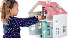 Las casas de muñecas son un juguete perfecto para niñas y niños