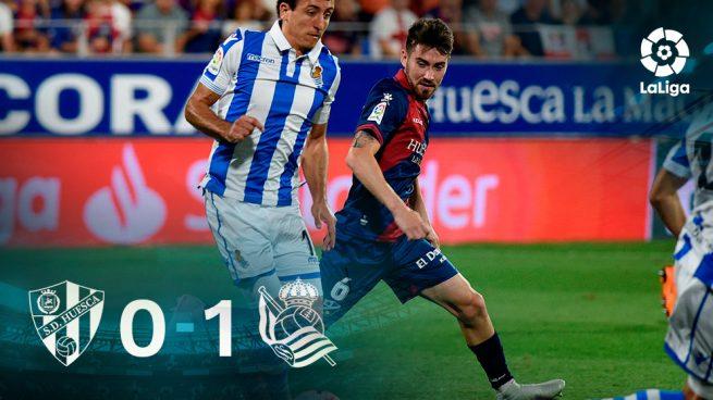 Huesca – Real Sociedad: Resultado, resumen y goles (0-1)