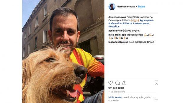El empresario y exdirectivo del FC Barcelona en su mensaje en favor de los golpistas en la Diada