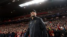 Jurgen Klopp, durante la primera jornada de Champions League. (Getty)