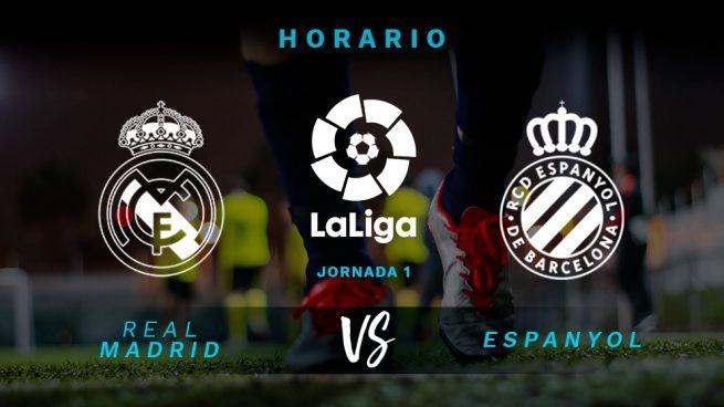 Real Madrid – Espanyol: hora y dónde ver el partido de la Liga Santander