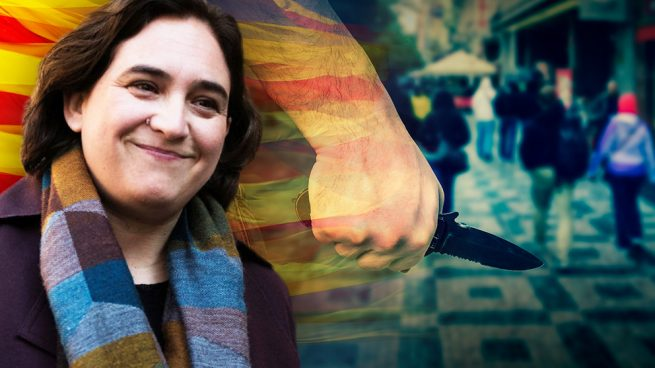 La Barcelona de Colau se convierte en la ciudad más insegura de España