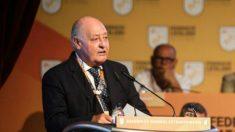Joan Soteras, en una Asamblea de la Federación Catalana de Fútbol. –