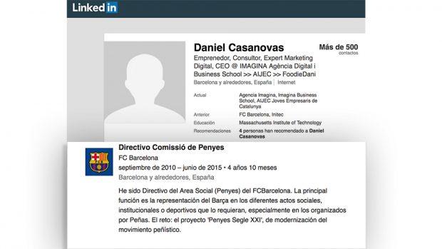 La web que recauda dinero para los golpistas es propiedad de un exdirectivo del FC Barcelona