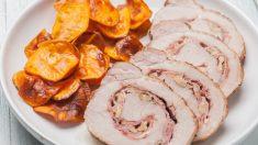 Receta de lomo de cerdo con huevo