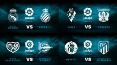 Partidos de la Liga Santander hoy 22 de septiembre.