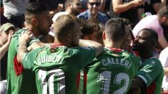 El Alavés goleó al Rayo en Vallecas. (EFE)