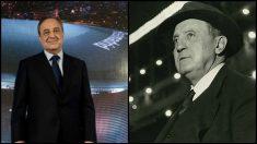 Florentino Pérez y Santiago Bernabéu.