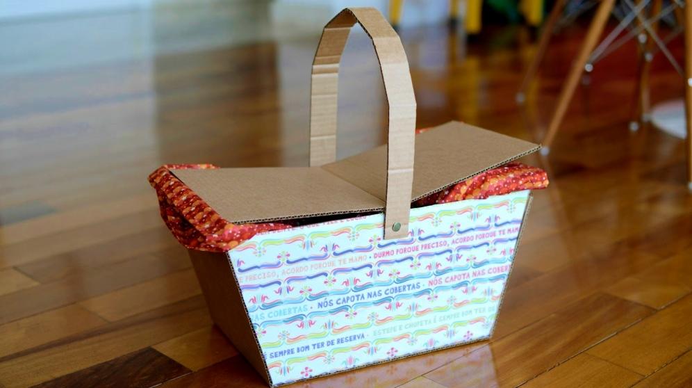 Las cestas de cartón son muy útiles por diversos motivos