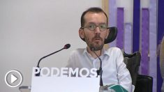 Pablo Echenique, secretario de Organización de Podemos. (EP)