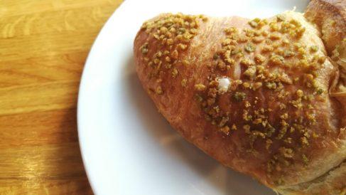 Receta de croissant de pistacho
