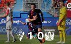 Eibar – Leganés: Resultado, resumen y goles (1-0)