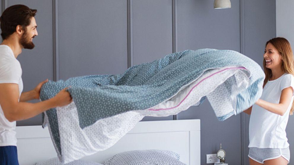 Todos los pasos para hacer la cama en cinco minutos