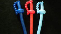 Las espadas son una de las formas que se pueden crear con globos