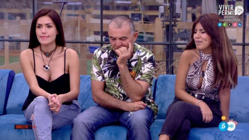 Mónica Hoyos salvada de la nominación en 'GH VIP 2018'.