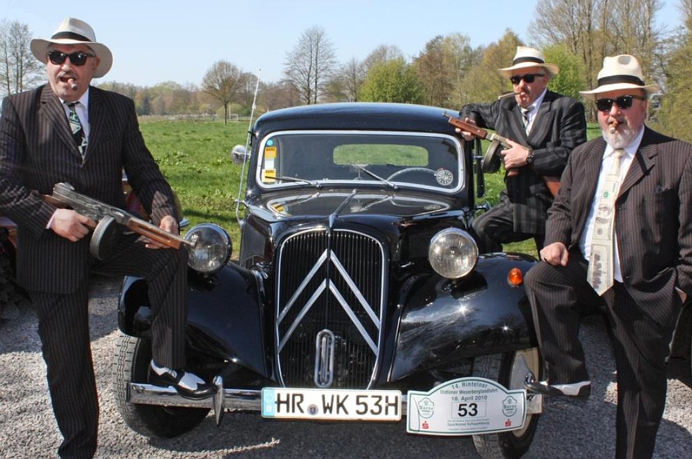 La mafia, donde Al Capone ha sido uno de sus máximos exponentes.