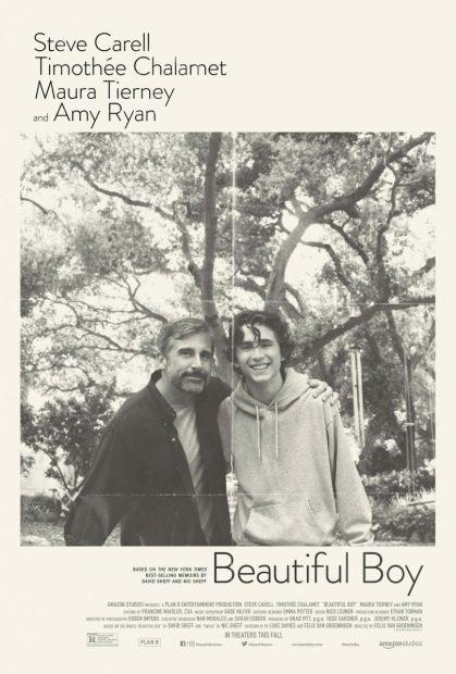 Beautiful Boy' con Steve Carell y Thimoptée