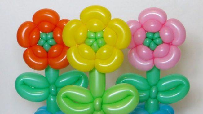 Como Hacer Flores Con Globos Paso A Paso Y De Manera Correcta - Como-hacer-flores-de-globos