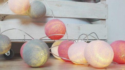 Descubre ideas originales para hacer guirnaldas de luces