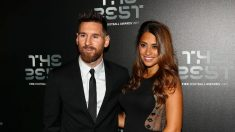 Messi durante los premios The Best. (Getty)