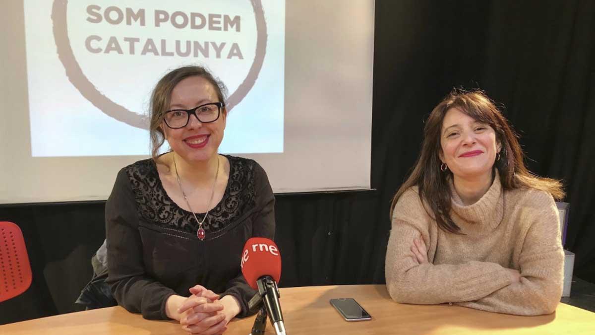 Noelia Bail, de Podemos. Foto: EP