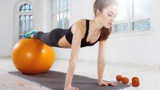 Con el pilates podemos trabajar diversas zonas, como los abdominales para mantenerlos fuertes.