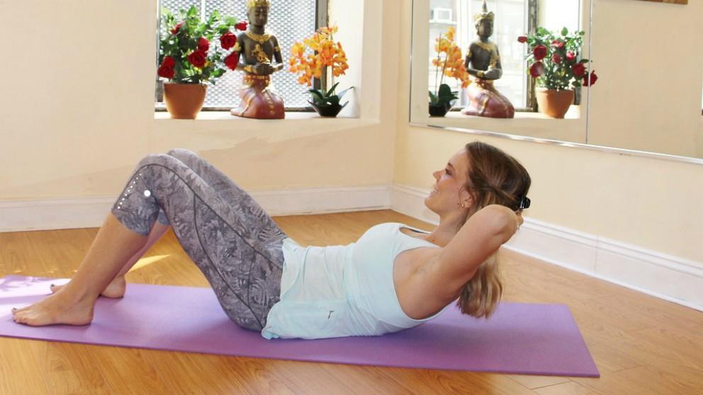Pilates, deporte para recuperarse del parto