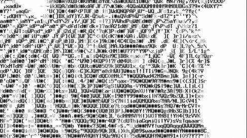 Qué es el arte ASCII