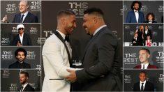 Las grandes estrellas del fútbol mundial, a excepción de Cristiano y Messi, acudieron a la gala The Best.